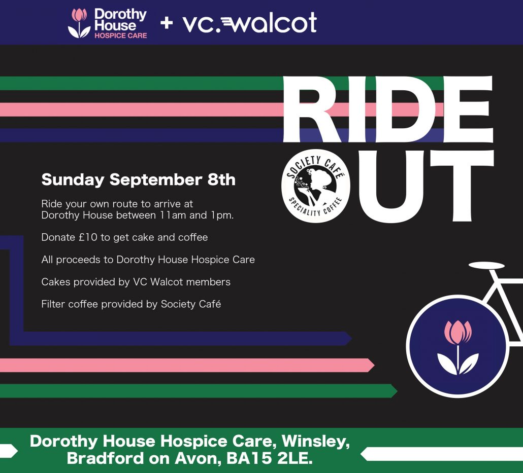 Featured Image for the Dorothy House Ride Out Sunday 1st September 2019